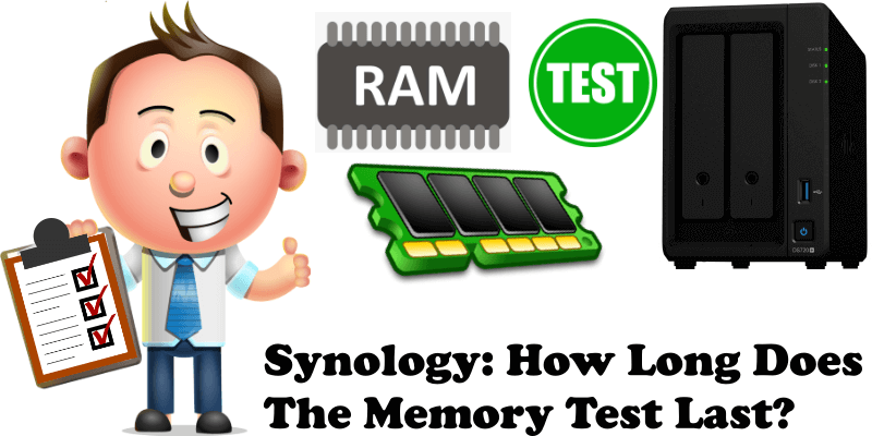 Synology How Long Does The Memory Test Last