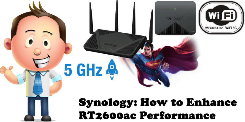 Synology How to Enhance RT2600ac Performance