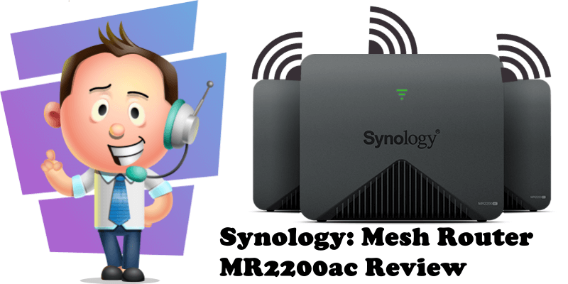 Synology Mesh Router MR2200ac Review