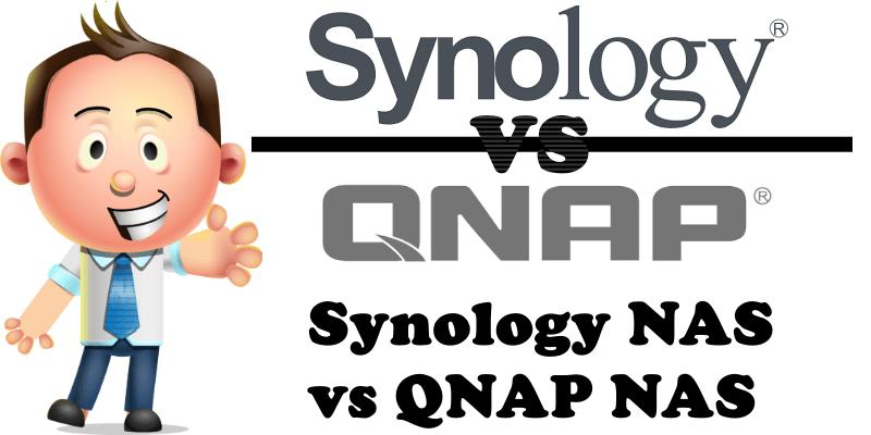 Synology NAS vs QNAP NAS