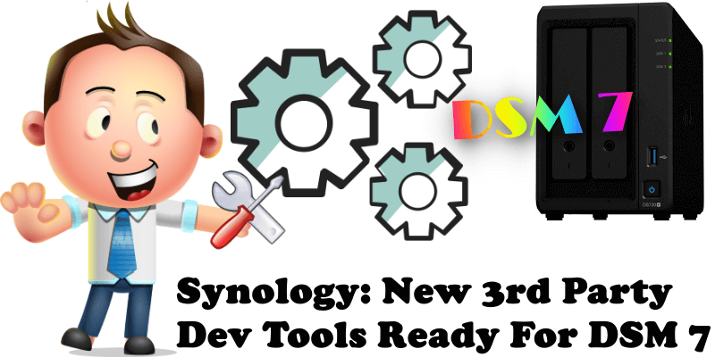 Synology New 3rd Party Dev Tools Ready For DSM 7