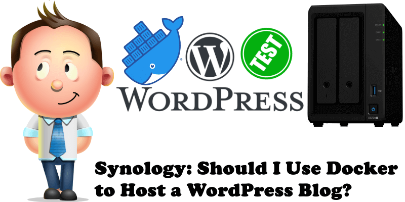 Synology Should I Use Docker to Host a WordPress Blog