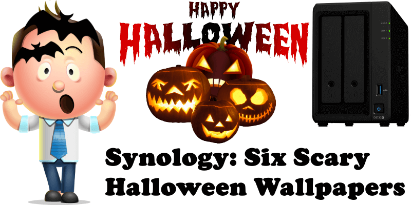 Synology Six Scary Halloween Wallpapers