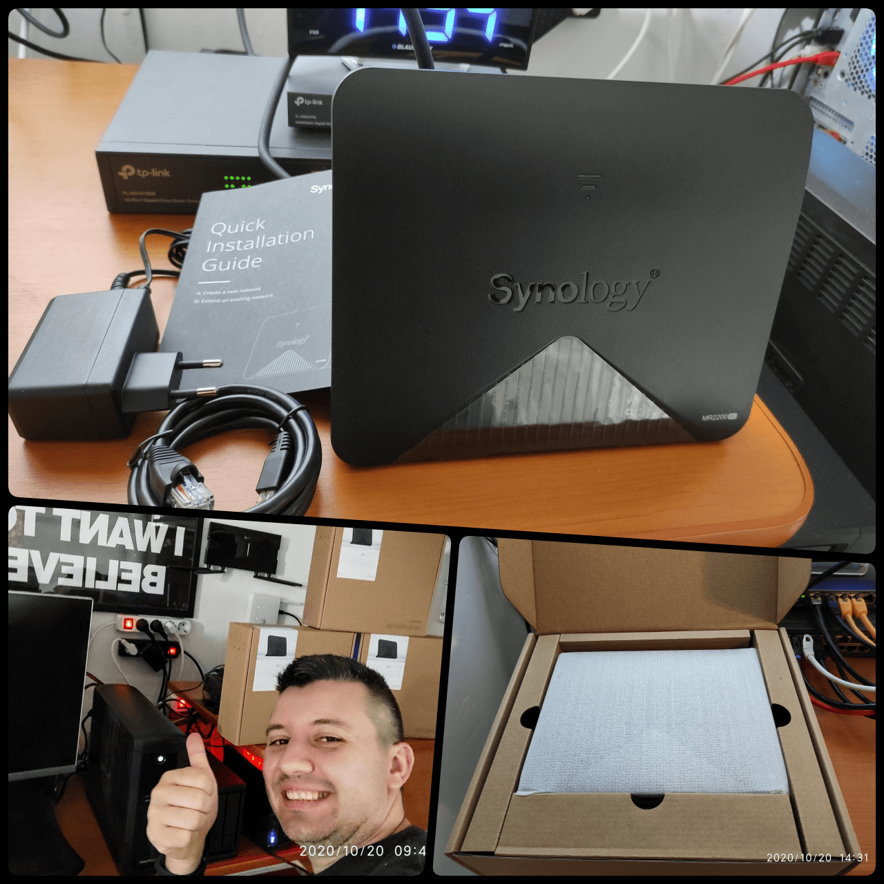 Synology router Mesh MR2200ac Review 1