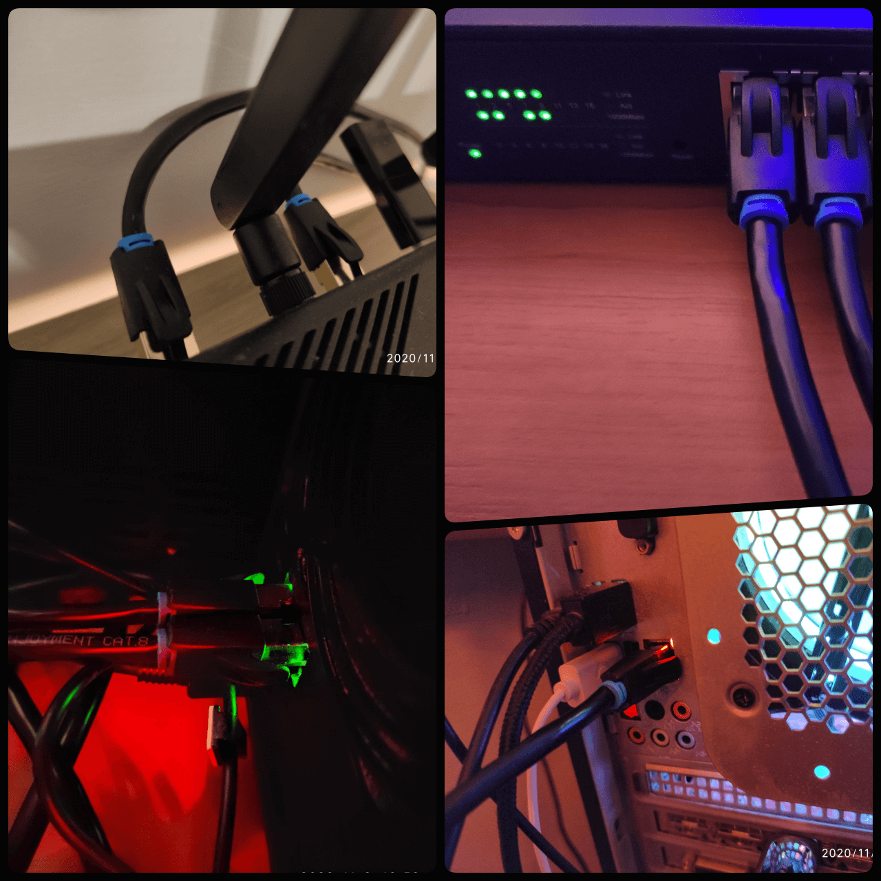 LAN to CAT 8 Cable Synology NAS