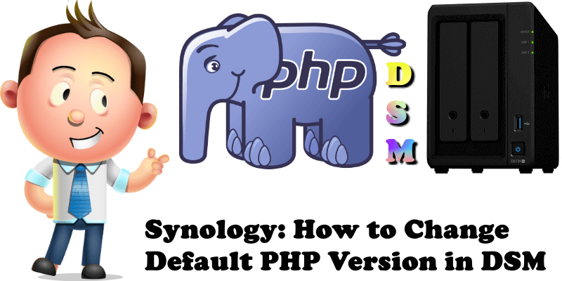 Synology How to Change Default PHP Version in DSM