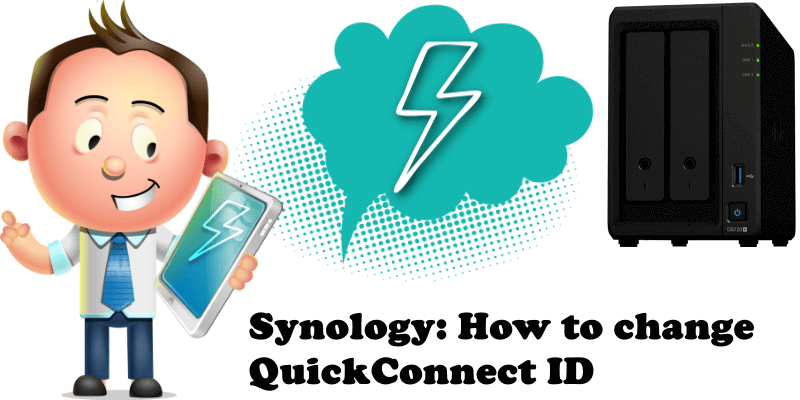 Synology How to Change QuickConnect ID
