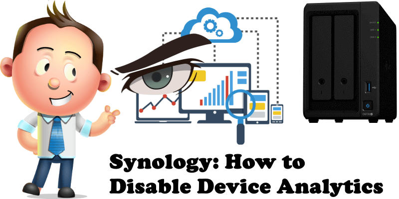 Synology How to Disable Device Analytics
