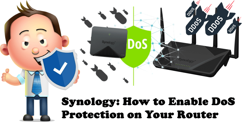 Synology How to Enable DoS Protection on Your Router