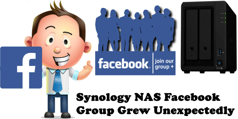 Synology NAS Facebook Group Grew Unexpectedly