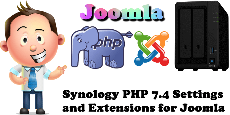 Synology PHP 7.4 Settings and Extensions for Joomla