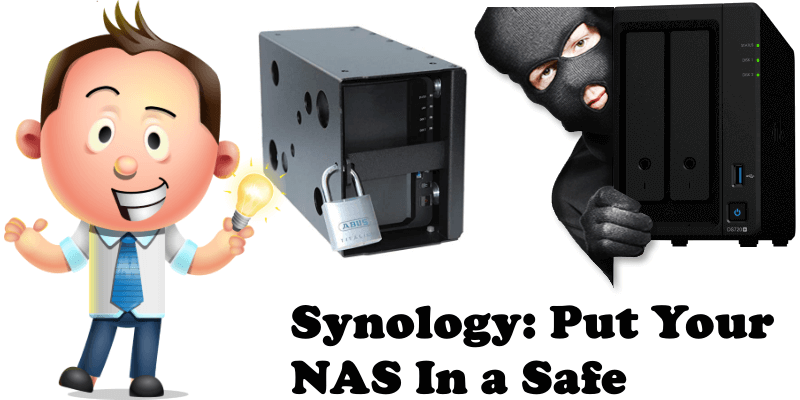 Synology Put Your NAS in a Safe
