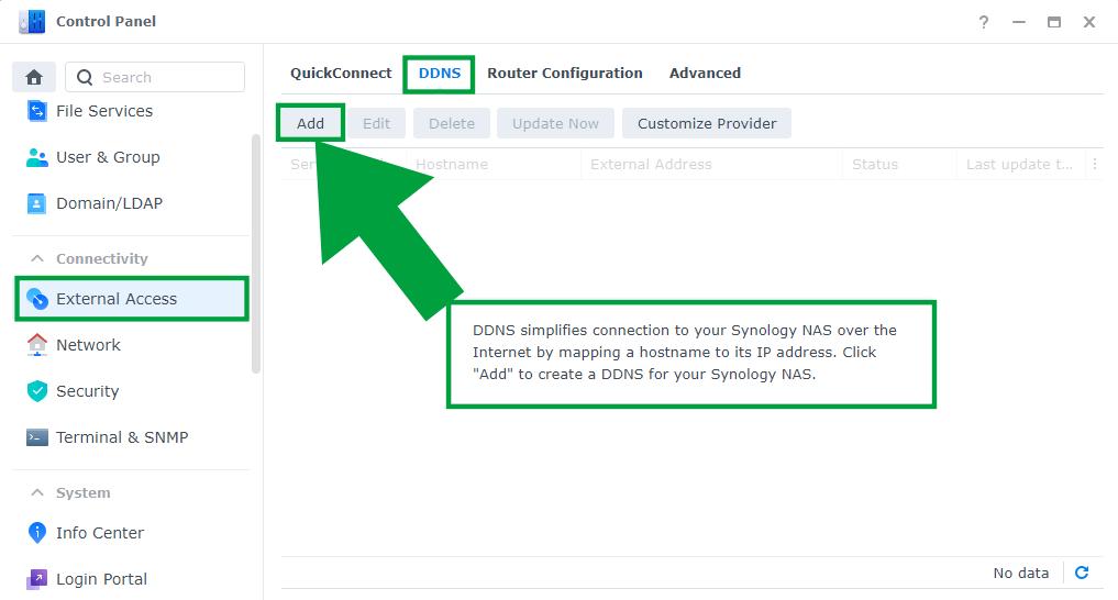 3 Synology How Do I Enable HTTPS SSL DDNS on DSM 7