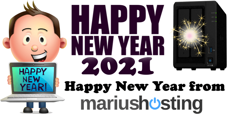 Happy New Year from mariushosting!