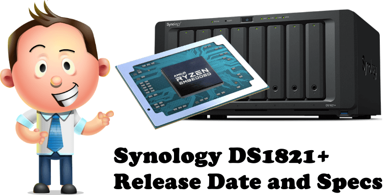 Synology DS1821+ Release Date and Specs