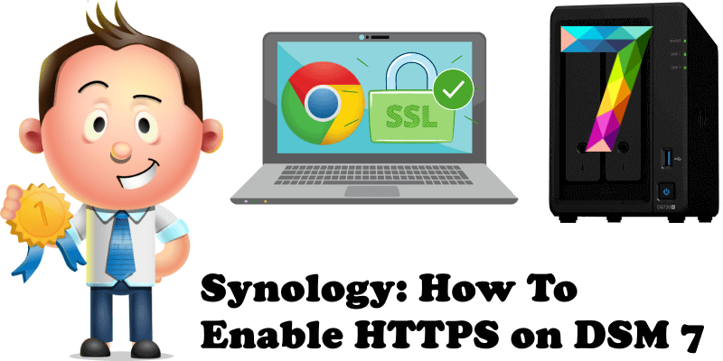 Synology How To Enable HTTPS on DSM 7