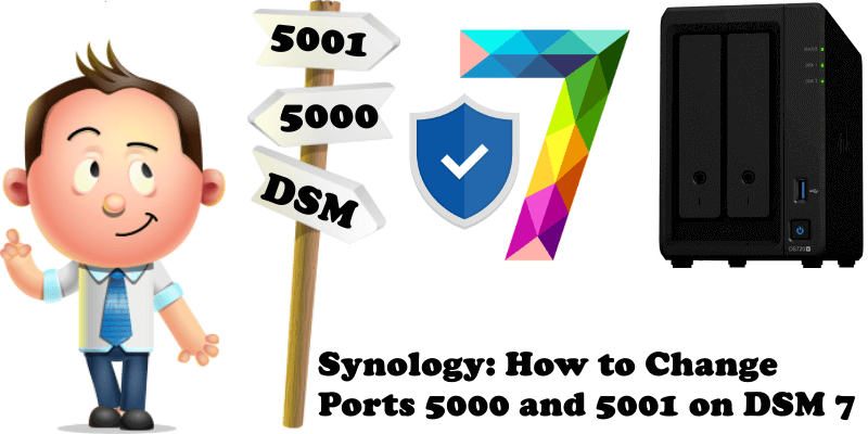 Synology How to Change Ports 5000 and 5001 on DSM 7