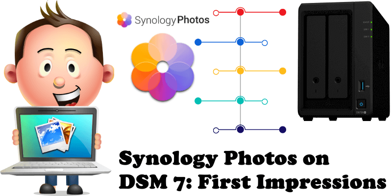 Synology Photos on DSM 7 First Impressions