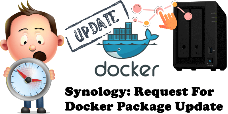 Synology Request For Docker Package Update