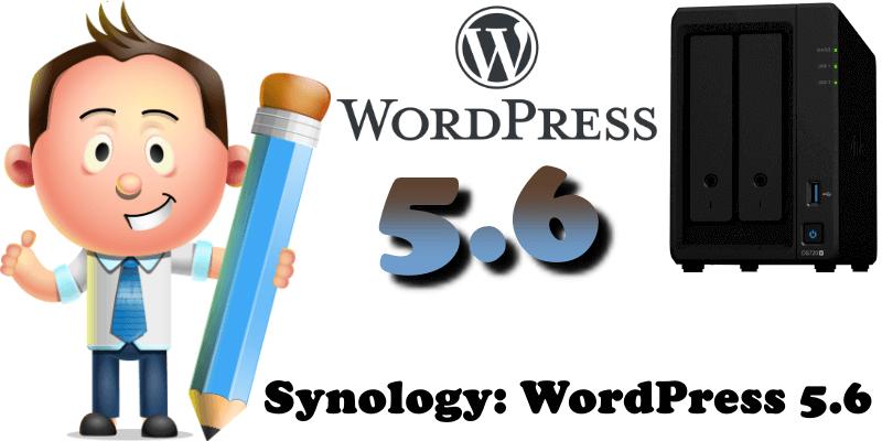 Synology WordPress 5.6