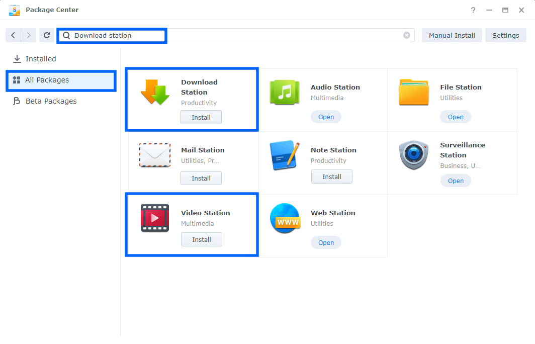 1 Synology Download YouTube Videos With Download Station