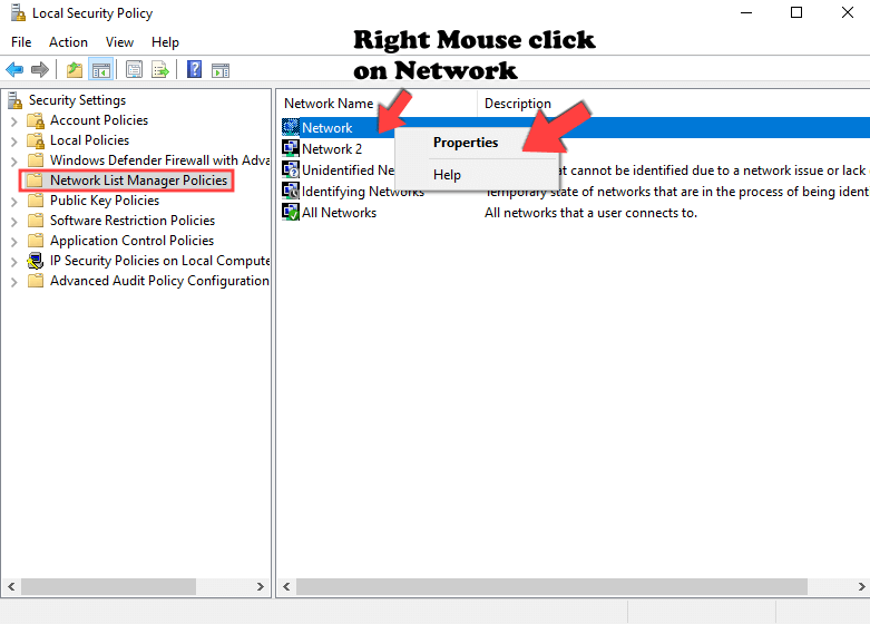 4 Change Network Name on Windows 10