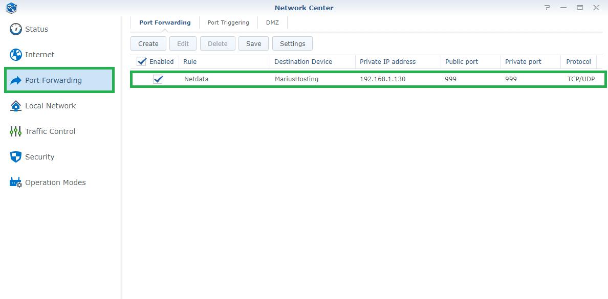 4 Synology Netdata setup HTTPS SSL
