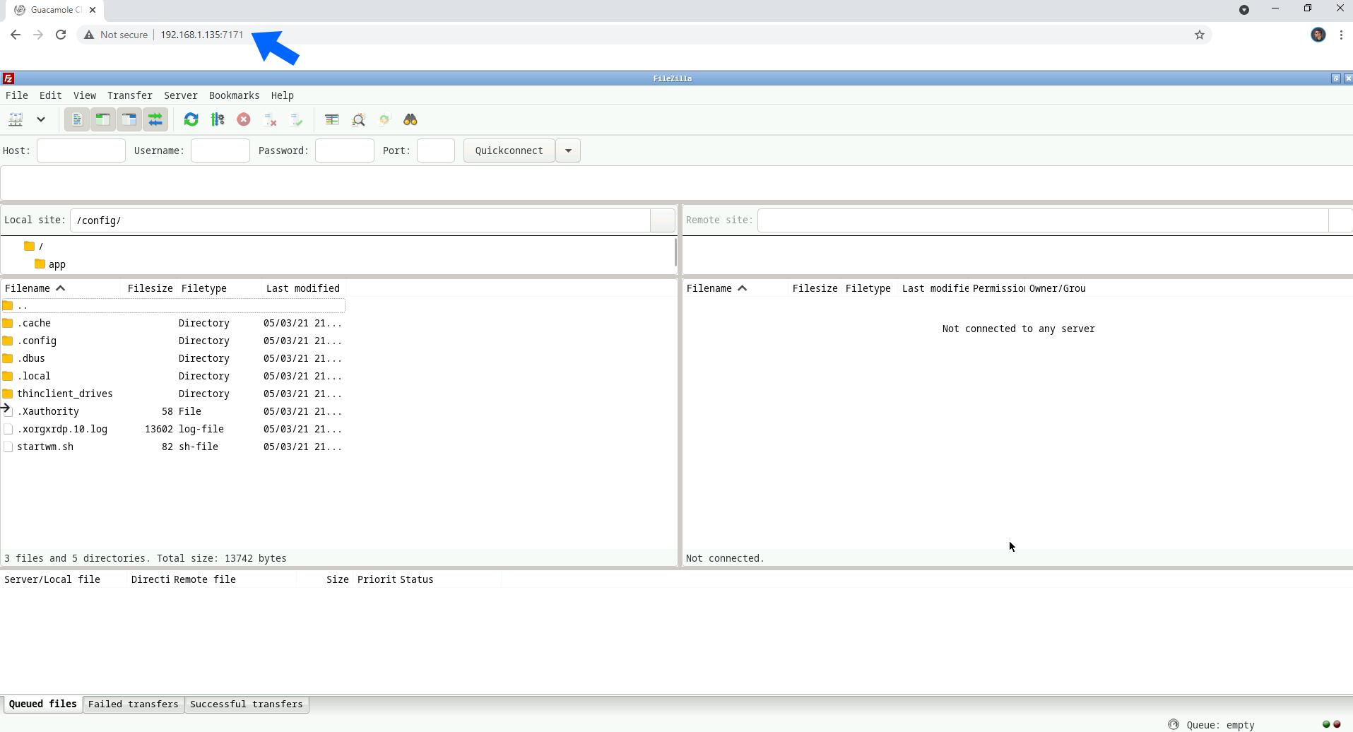 FileZilla Synology NAS Set up 6