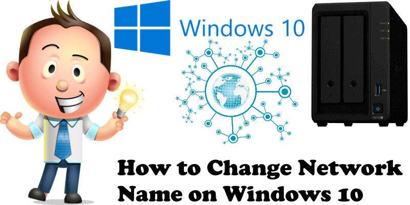 How to Change Network Name on Windows 10