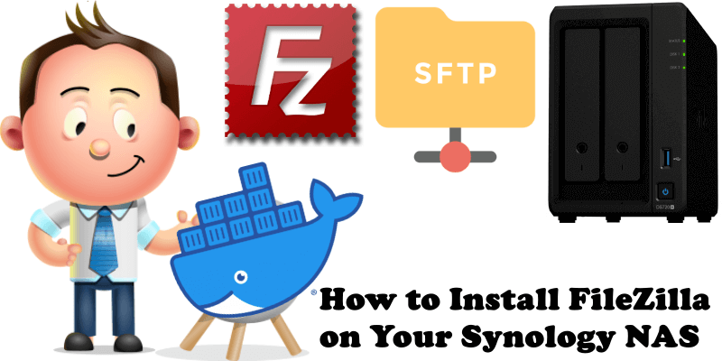 How to Install FileZilla on Your Synology NAS