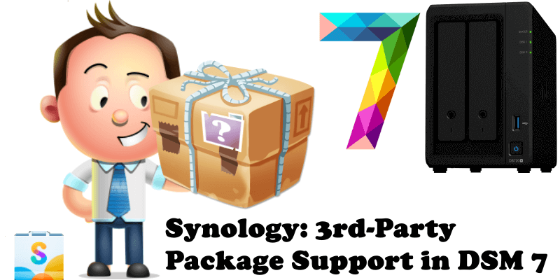 Synology 3rd-Party Package Support in DSM 7