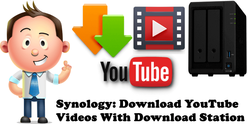 Synology Download YouTube Videos With Download Station