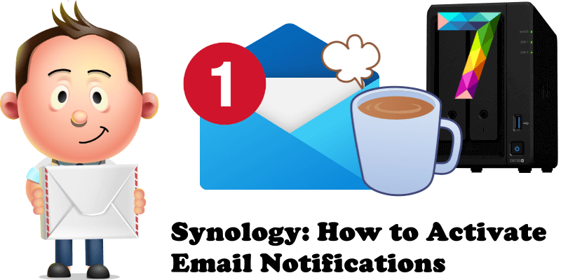 Synology How to Activate Email Notifications
