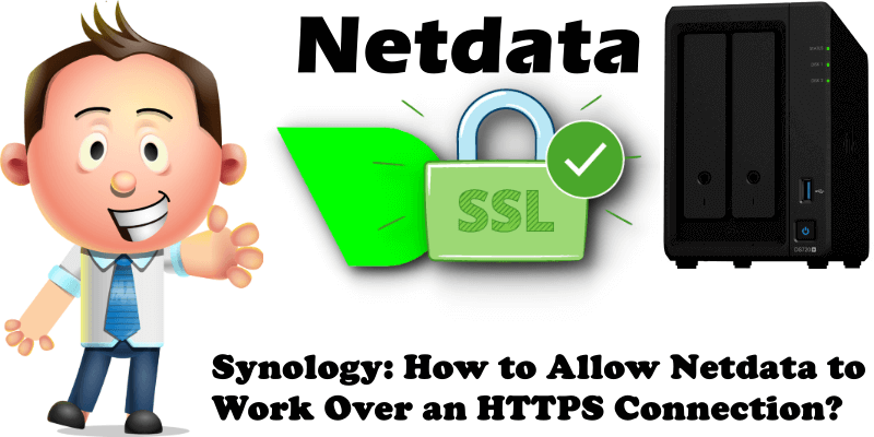 Synology How to Allow Netdata to Work Over an HTTPS Connection