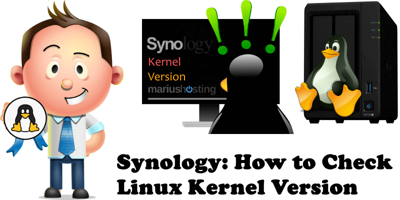 Synology How to Check Linux Kernel Version