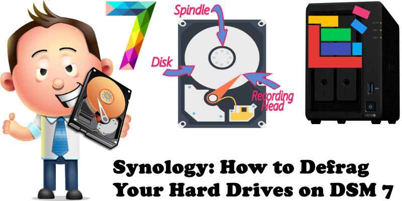 Synology How to Defrag Your Hard Drives on DSM 7