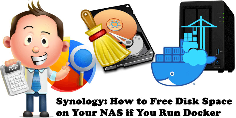 Synology How to Free Disk Space on Your NAS if You Run Docker