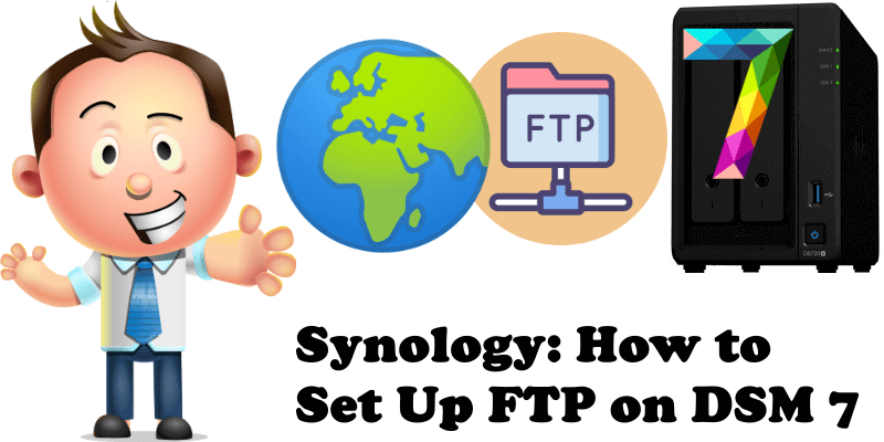 Synology How to Set Up FTP on DSM 7