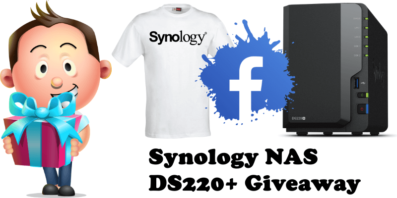 Synology NAS DS220+ Giveaway
