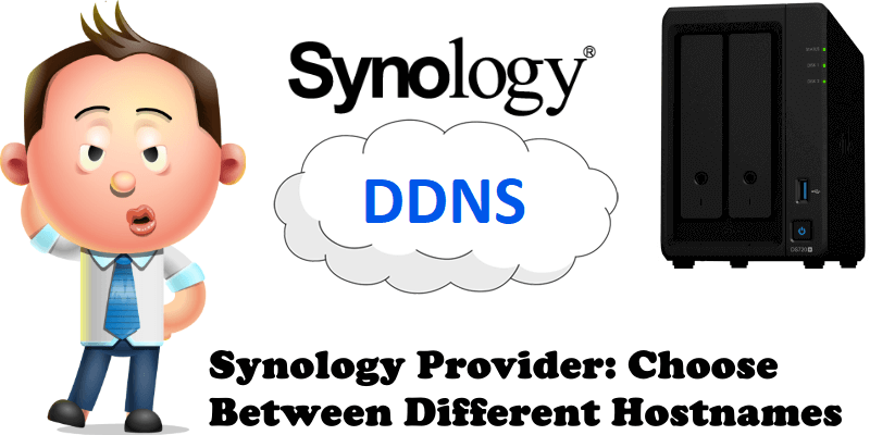 Synology Provider Choose Between Different Hostnames