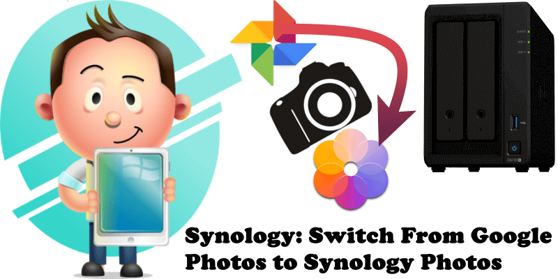 Synology Switch From Google Photos to Synology Photos