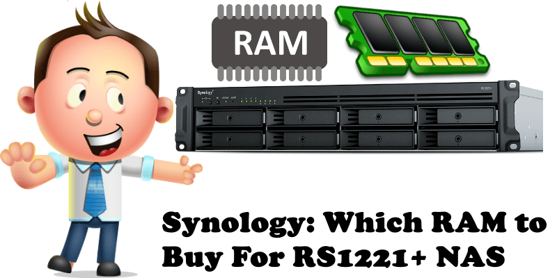 Synology Which RAM to Buy For RS1221+ NAS