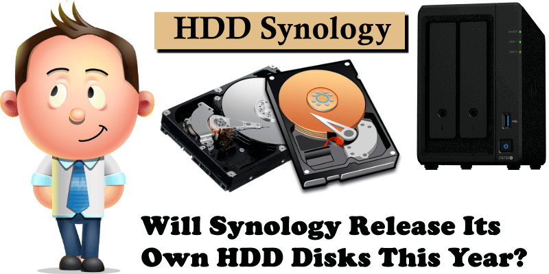 Will Synology Release Its Own HDD Disks This Year