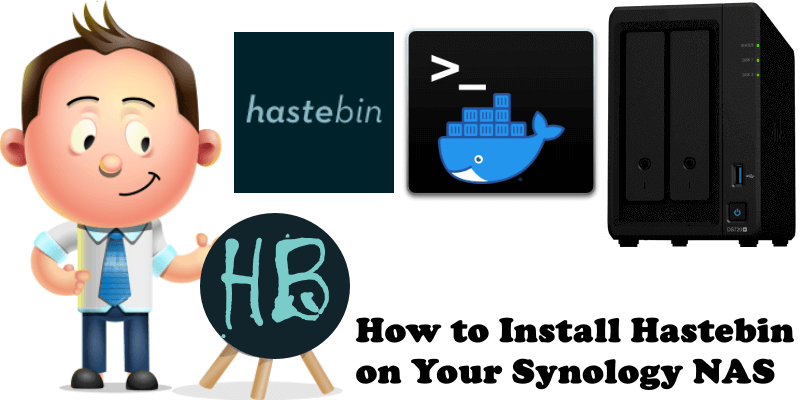 How to Install Hastebin on Your Synology NAS