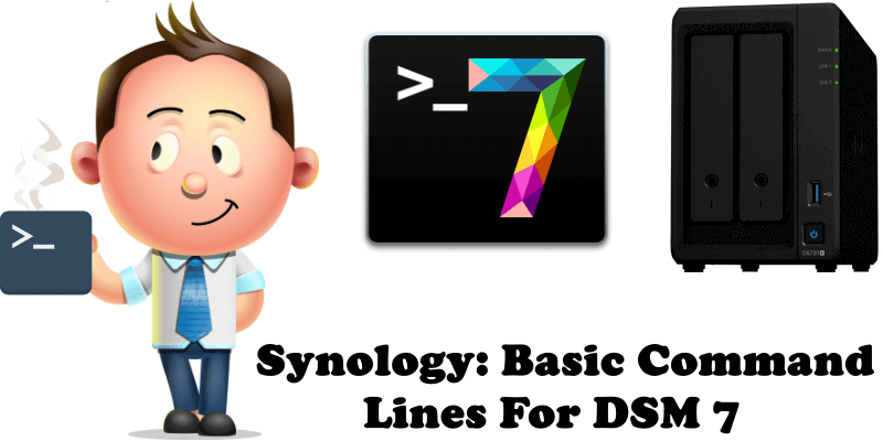 Synology Basic Command Lines For DSM 7