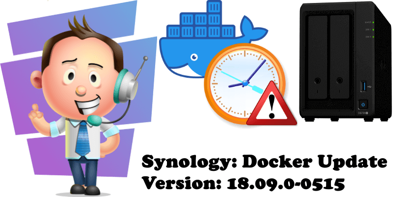 Synology Docker Update Version 18.09.0-0515