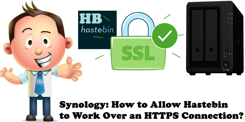 Synology How to Allow Hastebin to Work Over an HTTPS Connection