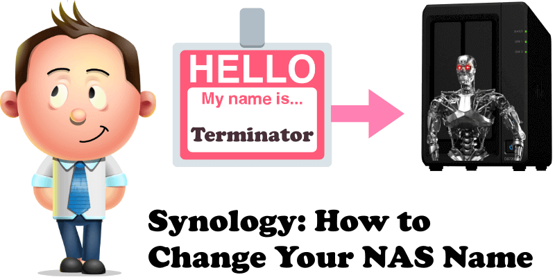 Synology How to Change Your NAS Name