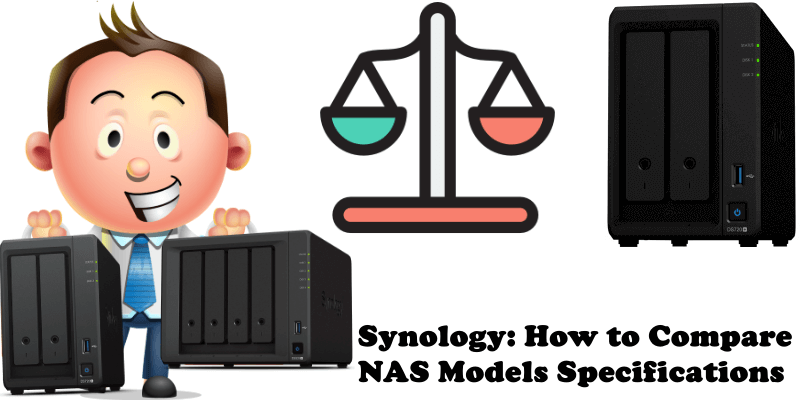 Synology How to Compare NAS Models Specifications
