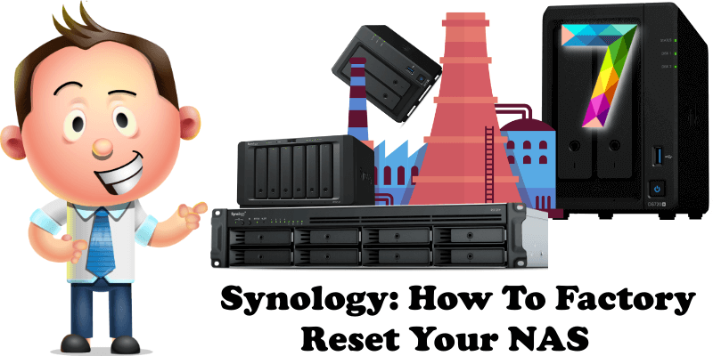 Synology How to Factory Reset Your NAS